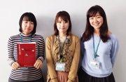 ボランティアの声_岩崎絵梨さん、富樫絵里香さん、五島朋子さん