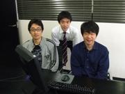 ボランティアの声_上野康永さん、小野寺洋さん、晝間貴雄さん